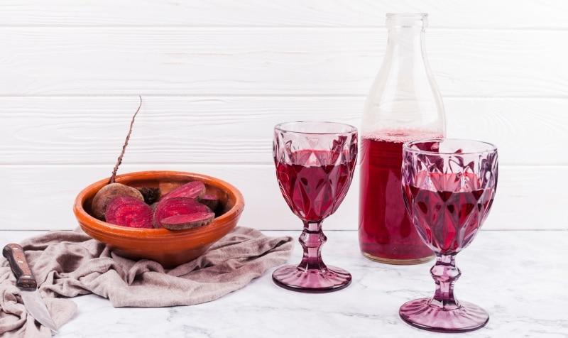 Suc de sfecla rosie reteta